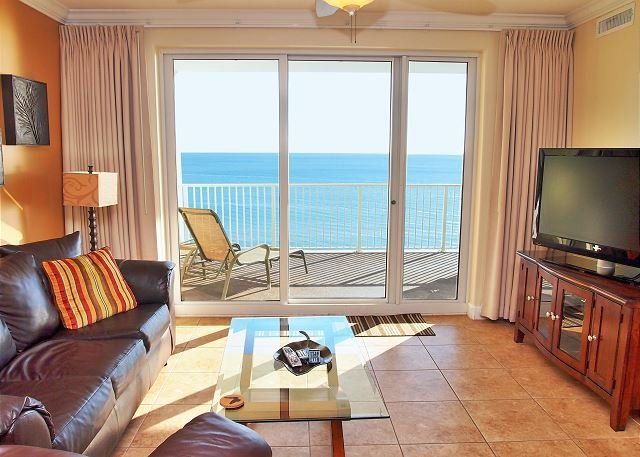 Ocean Reef Low 8th Floor Condo - 2 Bdrm, 2 Bath - Overlooks the Sandy Beach! - Image 1 - Panama City Beach - rentals