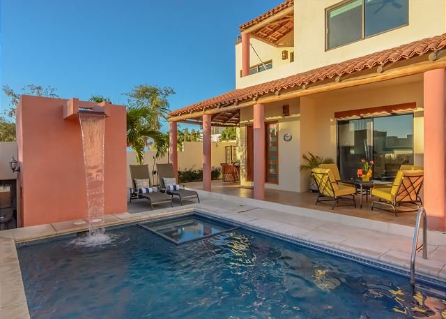 Imagine Casa Regina as your perfect vacation home in a secluded gated community!  - Private pool, ocean and arch views - five minute stroll to beach - La Joya - rentals