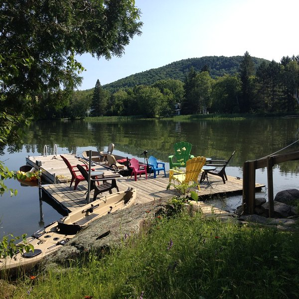 Mont Tremblant Luxury, 4 Season Waterfront Home, Only 2 Wks Left For Summer - Image 1 - Mont Tremblant - rentals