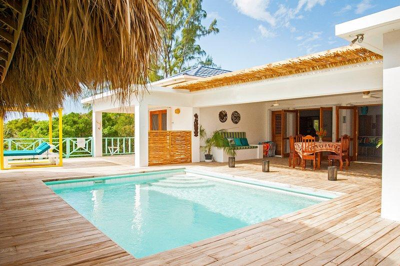 La Sirena: Secluded Villa w/ Pool & Beach access - Image 1 - Treasure Beach - rentals