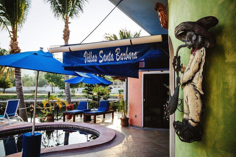 Entrance - Waterfront Premier suite Pool close to everything! - Barra de Navidad - rentals