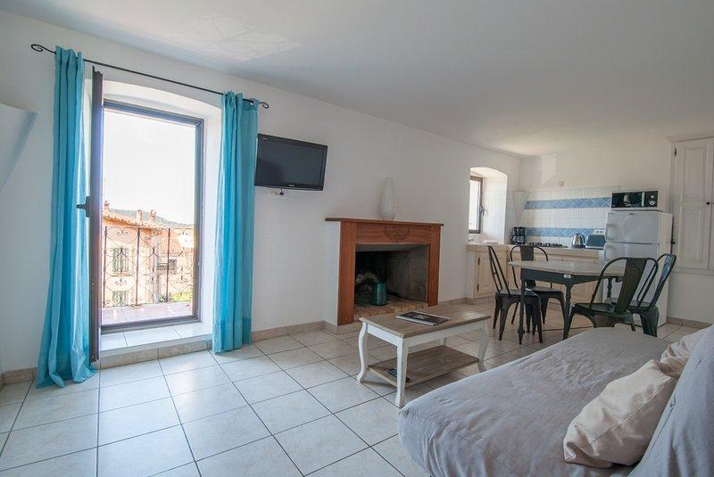 """Appartement """"terra""""  à  Calenzana, lumineux et très fonctionnel ambiance - Image 1 - Calenzana - rentals"""