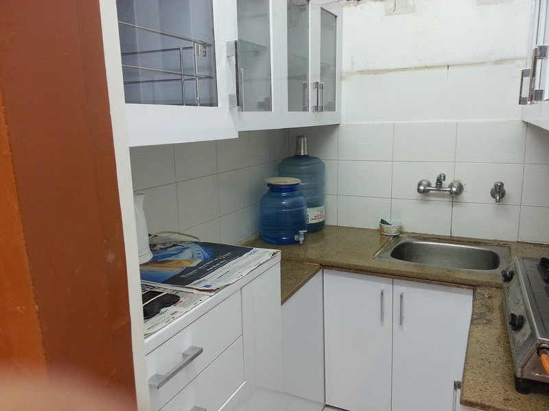 Modular Kitchen - One BHK Serviced Apartment SA2 for rent in Lucknow, India with Modular Kitchen - Lucknow - rentals