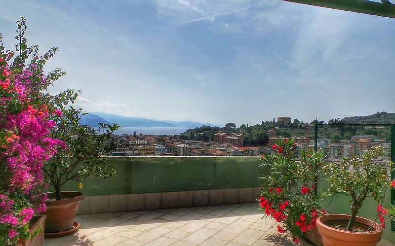 Trevi-Outstanding apartment with big terrace - Image 1 - Santa Margherita Ligure - rentals