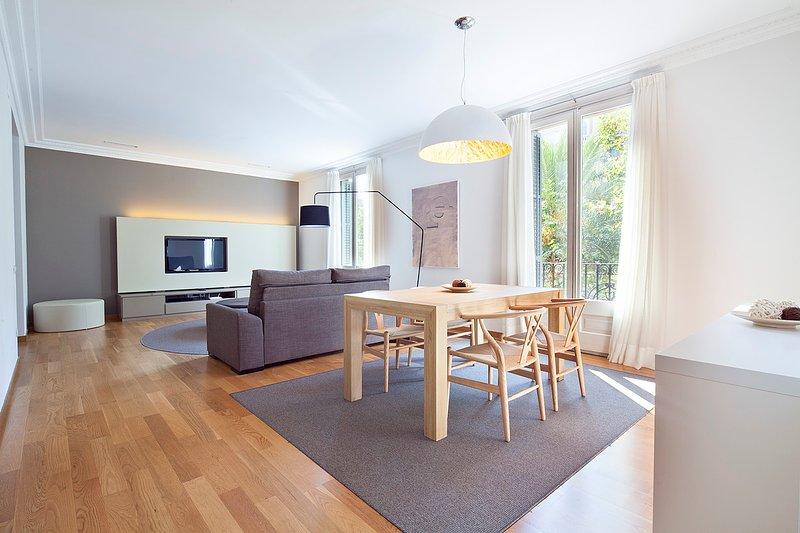 B121 One Bedroom Apartment in Barcleona - Image 1 - Barcelona - rentals
