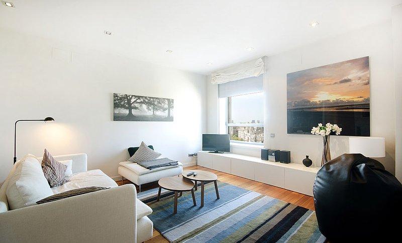 Beautiful and spacious one bedroom apartment in Passeig de Gracia - B124 - Image 1 - Barcelona - rentals