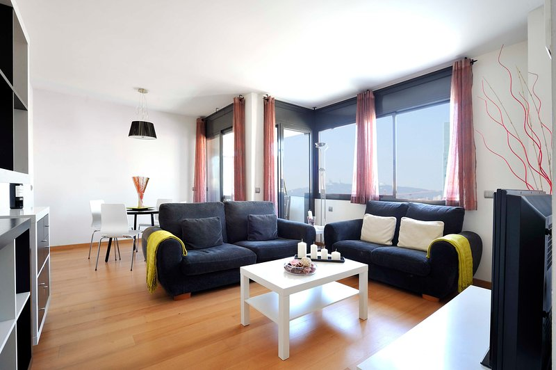 Family  apartment in the beach with terrace and pool - B213 - Image 1 - Barcelona - rentals