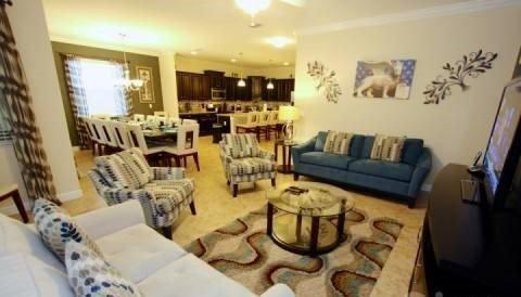 6 Bed 5 Bath Paradise Palms Resort Pool Home. 8915CUBA - Image 1 - Orlando - rentals
