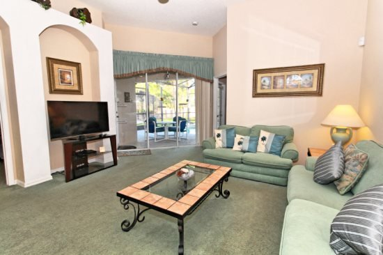 Beautiful 4 Bedroom 3 Bathroom Pool Home in Calabay Park. 234OD - Image 1 - Orlando - rentals