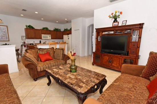 This Large 6 Bedroom Home In A Golf Community. 116NHD - Image 1 - Orlando - rentals