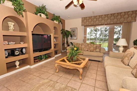 Large 5 Bedroom Pool Home In Highlands Reserve. 201BD - Image 1 - Orlando - rentals