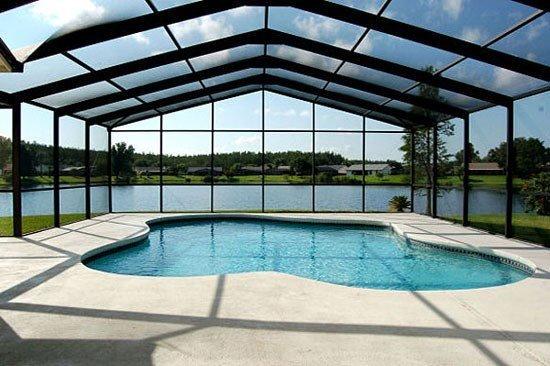 3 Bedroom Pool Home With Pool Deck Overlooking Large Lake. 3045ELD. - Image 1 - Orlando - rentals