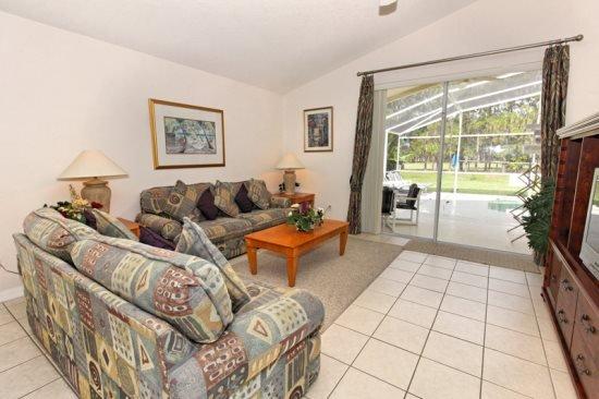 4 Bedroom 3 Bathroom Pool Home in Highlands Reserve. 919TC - Image 1 - Orlando - rentals
