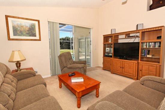 4 Bed 3 Bath Pool Home In Highlands Reserve Golf Community. 632TC. - Image 1 - Orlando - rentals