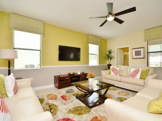 6 Bed 6 Bath Pool Home in Golf Resort. 1467RFD - Image 1 - Orlando - rentals