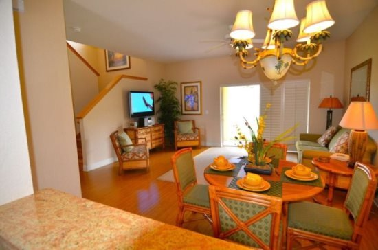 4 Bed 3.5 Bath Town Home in Regal Palms Resort. 3051CA - Image 1 - Orlando - rentals