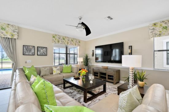 Amazing 8 Bedroom Pool Home In ChampionsGate Golf Resort. 1433RFD - Image 1 - Orlando - rentals