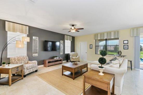 6 Bedroom ChampionsGate Golf Resort Pool Home. 1417RFD - Image 1 - Kissimmee - rentals
