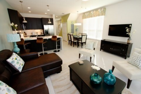 Modern 3 Bedroom 3 Bathroom Town Home in Serenity Dream. 1533TA - Image 1 - Kissimmee - rentals