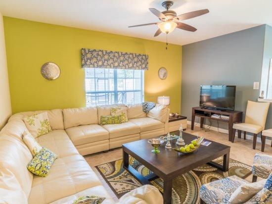 5 Bedroom 4 Bath Town Home In Paradise Palms Resort Sleeps 15. 8951CPR - Image 1 - Orlando - rentals