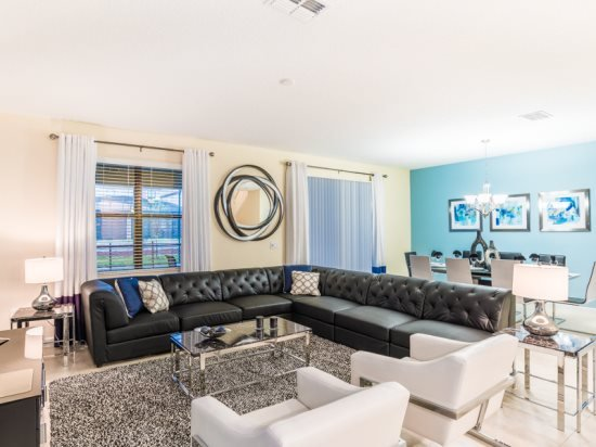 Luxury 9 Bedroom 5 Bath Pool Home in ChampionsGate Golf Resort. 1456BTR - Image 1 - Kissimmee - rentals