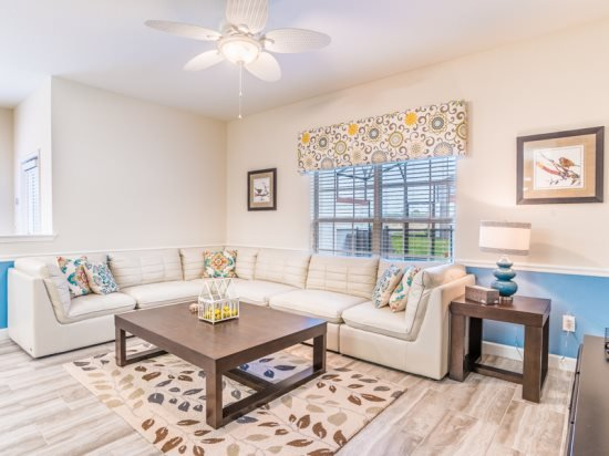 5 Bedroom 4 Bath Townhome with Pool in New Resort. 4823BRL - Image 1 - Orlando - rentals