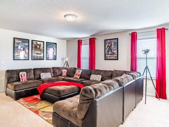 Luxury 6 Bedroom 4.5 Bathroom Pool Home in Upscale Resort. 2120RD - Image 1 - Orlando - rentals