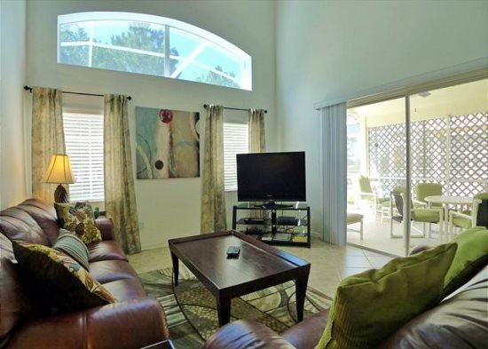Adorable 3 Bedroom 2 Bath Pool Home with Fairway View. 2207MC - Image 1 - Kissimmee - rentals