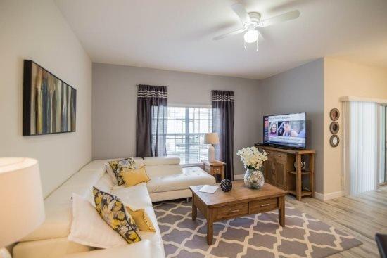 4 Bedroom 3 Bath Town Home with Pool in Storey Lake Resort. 4809CTD - Image 1 - Orlando - rentals