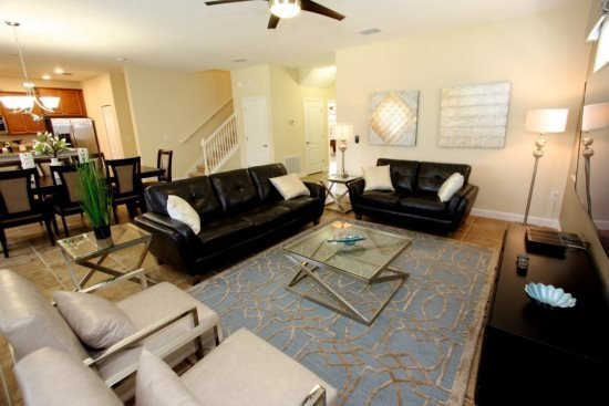 Exceptional 6 Bedroom 6 Bath Pool Home with Spa in Champions Gate. 1457RFD - Image 1 - Kissimmee - rentals