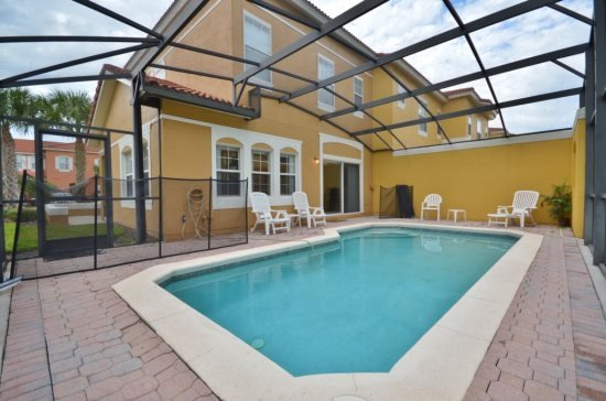 4 Bedroom 3 Bath Town Home with Pool in Terra Verde. 4746OBW - Image 1 - Intercession City - rentals