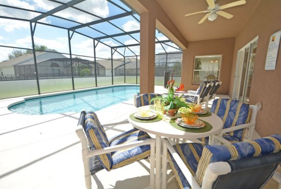 Grand 5 Bedroom 3 Bath Pool Home in the Gated West Haven. 511KD - Image 1 - Davenport - rentals