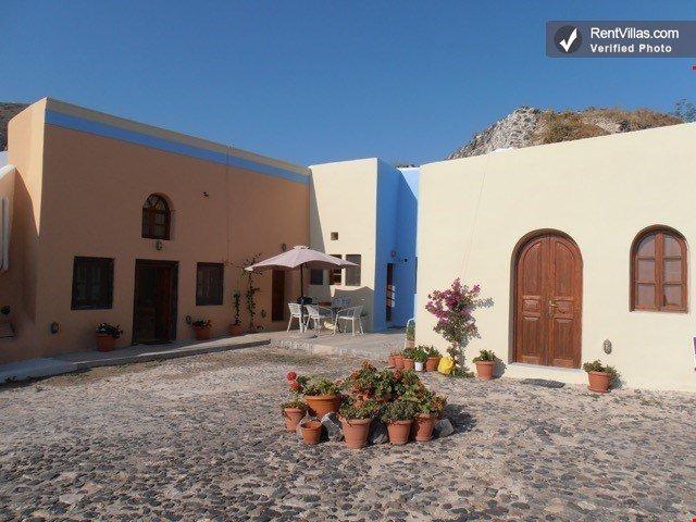 Bright and Open Villa in Greece with Stunning Views - Villa Camari with Studio - Image 1 - Kamari - rentals