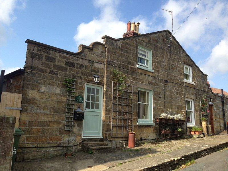Chapel Cottage Exterior 10 minutes walk to the beach - ChapelCottage Rated Excellent on Trip Advisor 2013 - Whitby - rentals