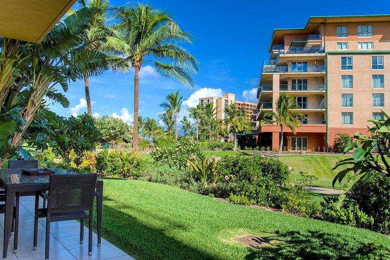 Maui Resort Rentals: Honua Kai Hokulani 146 – Upgraded Ground Floor 2BR w - Image 1 - Lahaina - rentals