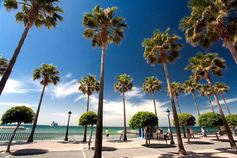 Beachside 3BR with HUGE Terrace in Marbella center - Image 1 - Marbella - rentals