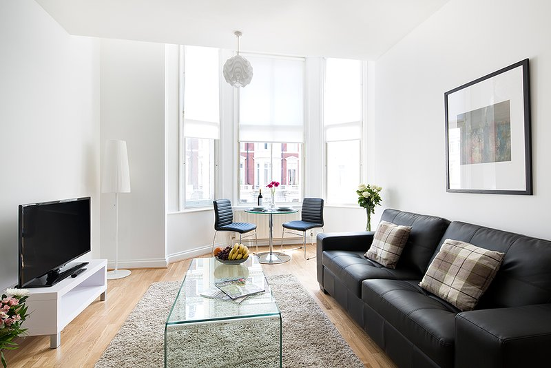 Bright and breezy lounge - Modern 2 Bedroom in the heart of South Kensington - London - rentals