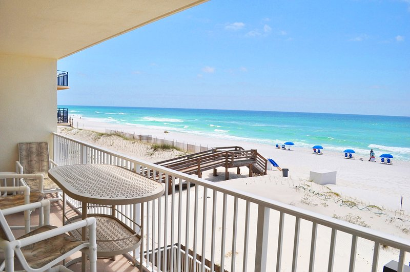 Balcony Sea Dunes Resort Unit 202 Fort Walton Beach Okaloosa Island Vacation Rentals - Sea Dunes Resort, Unit 202 - Fort Walton Beach - rentals
