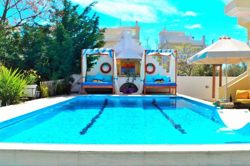 Sun-leisure-pool-sea, spa, cazino! Special offers! - Image 1 - Loutraki - rentals