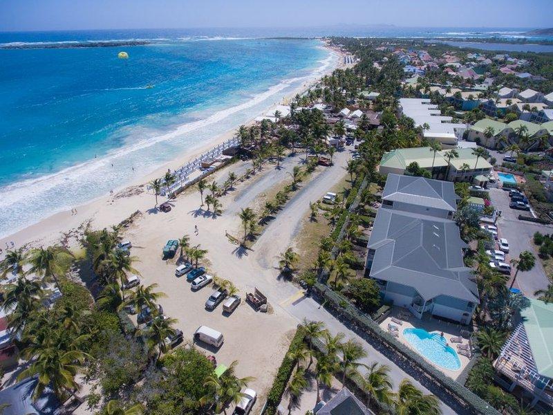 Caribbean Princess, Orient Beach, St Martin - EDEN at CARIBBEAN PRINCESS C4, wonderful beachfront 2BR sleep six condo on 2nd - Orient Bay - rentals