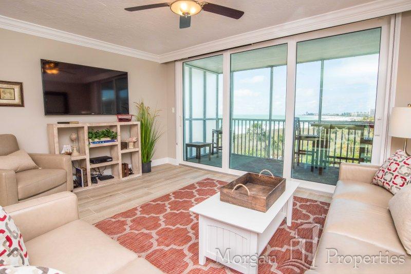 Morgan Properties - Crystal Sands 406 -BRAND NEW 1 Bed / 1 Bath Direct Ocean - Image 1 - Siesta Key - rentals