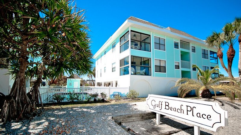 Located in the Gulf Beach Place Complex - Beach Potato: 2BR Condo with Pool & Amazing View - Holmes Beach - rentals