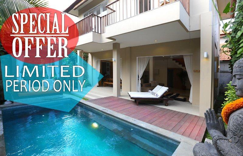 Del Mar2, Luxury 2 Bedroom Villa By The Beach in Seminyak - Image 1 - Seminyak - rentals