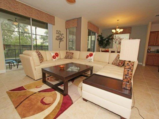 6 Bedroom 5 Bath Pool Home in Paradise Palms. 8953CUBA - Image 1 - Orlando - rentals