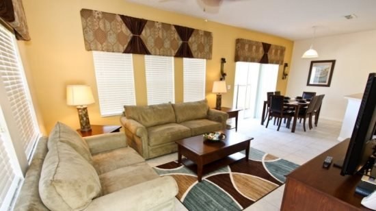 4 Bedroom 3 Bathroom Town Home with Lake View. 3031YLL - Image 1 - Orlando - rentals