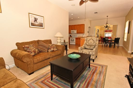 Luxurious 4 Bedroom 3 Bathroom Pool Home With Games Room. 354PD - Image 1 - Orlando - rentals