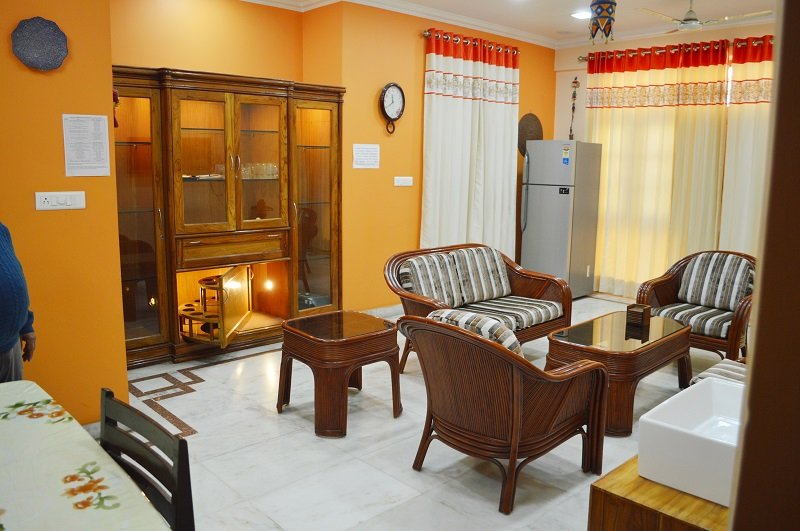 """Lobby - Executive Suite """"2 Bed Rooms Serviced Apartment"""" for 4 Guests  in Lucknow, IN - Lucknow - rentals"""