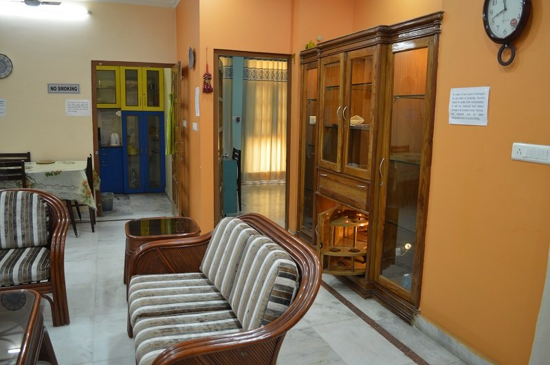 """Lobby - Executive Suite """"2 Bed Rooms Serviced Apartment"""" in Lucknow, IN for 4 Guests - Lucknow - rentals"""