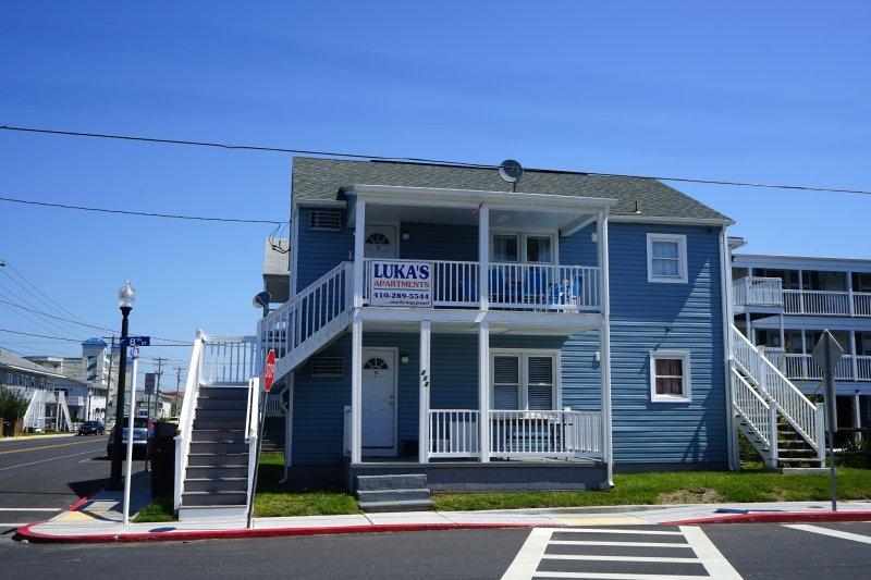 The Lukas Apartments Apt 2: Three Bedroom Apartment - Image 1 - Ocean City - rentals
