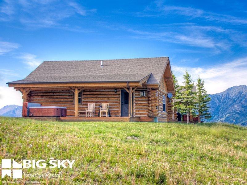 Big Sky Moonlight Basin | Cowboy Heaven Cabin 11 Cabin Hollow - Image 1 - Big Sky - rentals